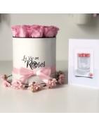 La Romantique | Rose éternelle à offrir | flowerbox | La Vie en Roses