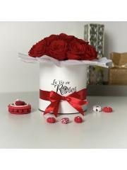 Nos bouquets soyeux | Roses éternelles| Flowerbox| box de roses